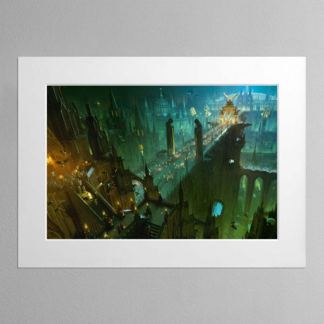 The Emperor's Palace – Mounted Print