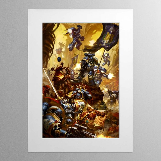 The Fulminators – Mounted Print