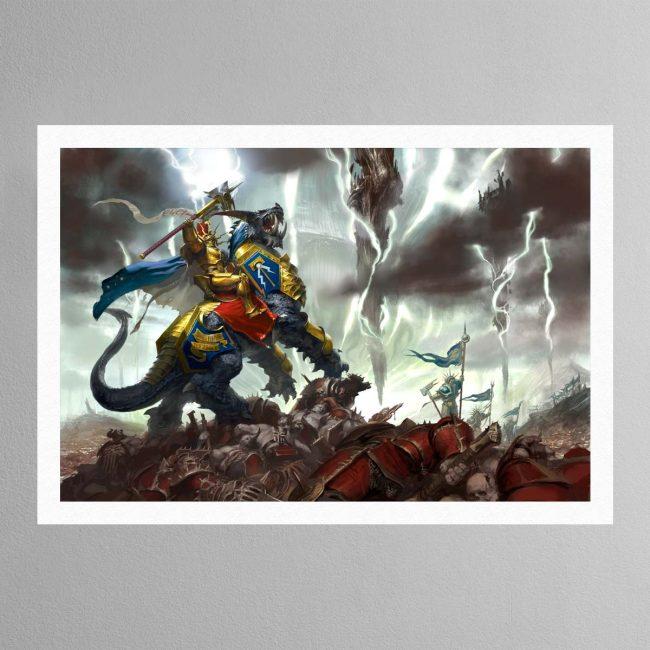 Vandus Hammerhand, Lord-Celestant of the Hammers of Sigmar – Print