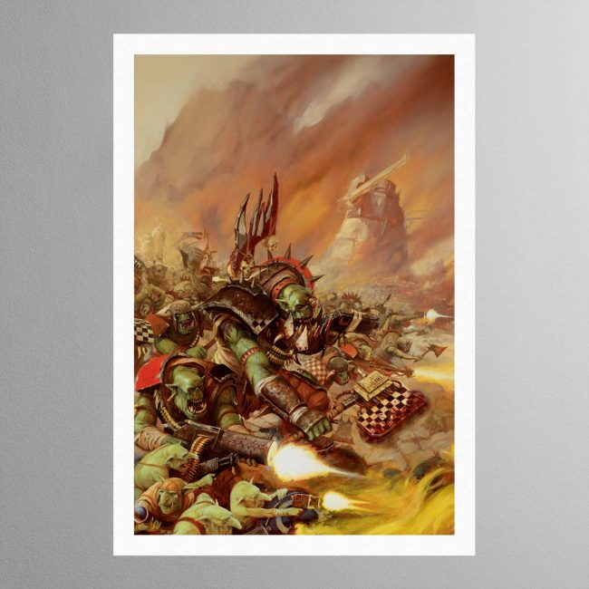 Waaagh! The Orks – Print