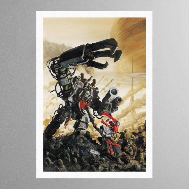 Yarrick Vs Ghazghkull Armageddon – Print