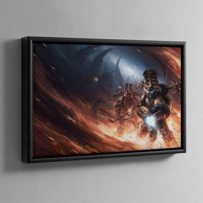 Black Legion – Framed Canvas