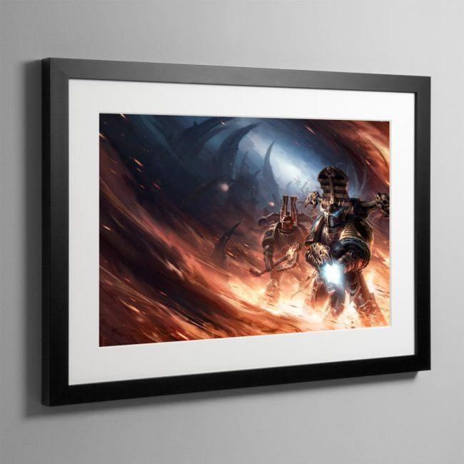 Black Legion – Framed Print