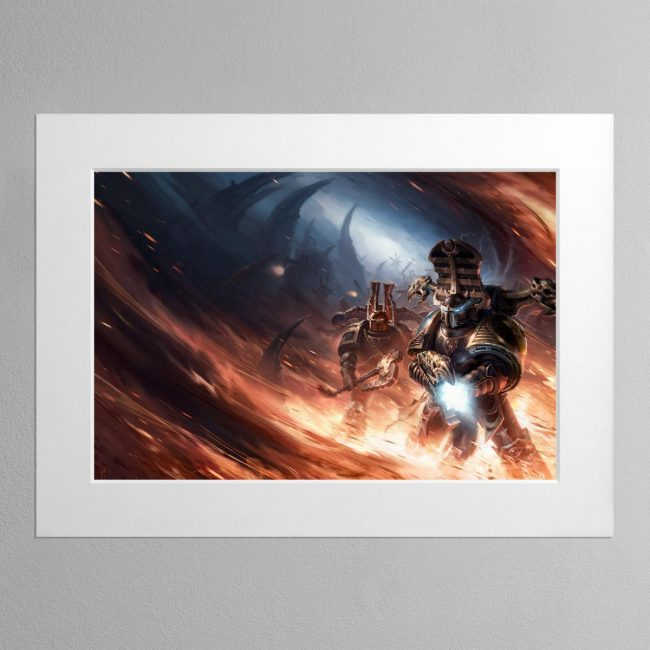 Black Legion – Mounted Print