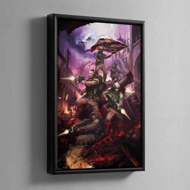 Cadia Stands – Framed Canvas