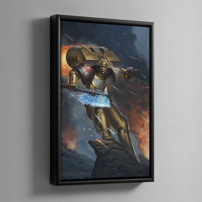 Dante – Framed Canvas