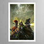 Eight Lamentations – Spear of Shadows – Print