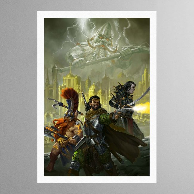 Eight Lamentations – Spear of Shadows – Print