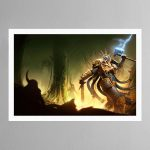 Hallowed Knights – Plague Garden – Print