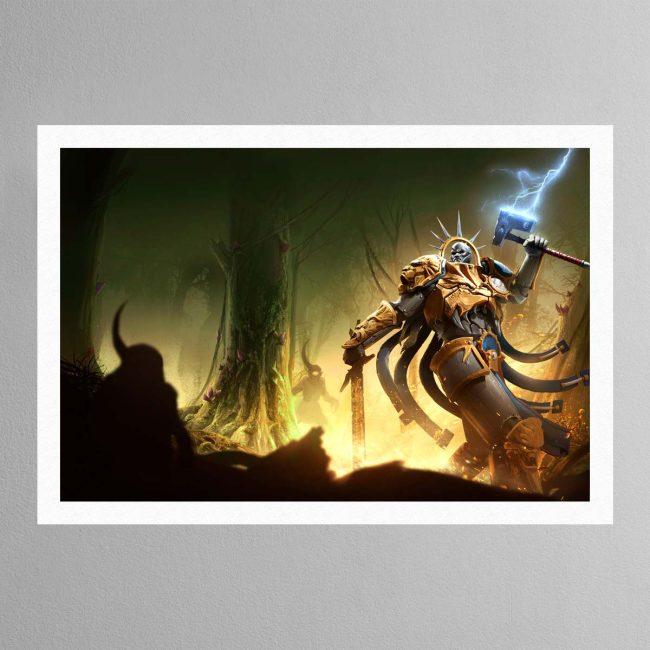 Hallowed Knights – Plague Garden – Print