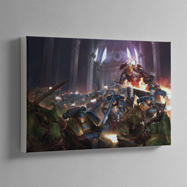 The Dark Imperium – Canvas