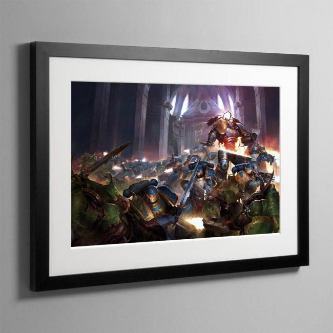 The Dark Imperium – Framed Print