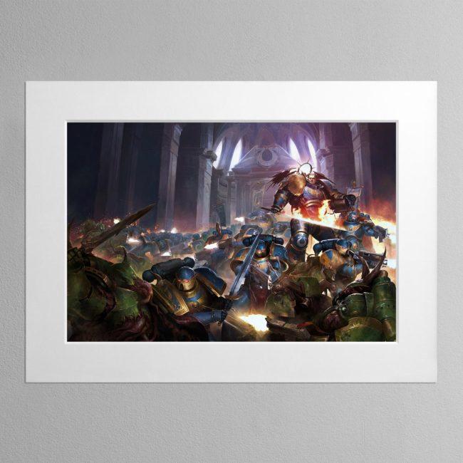The Dark Imperium – Mounted Print