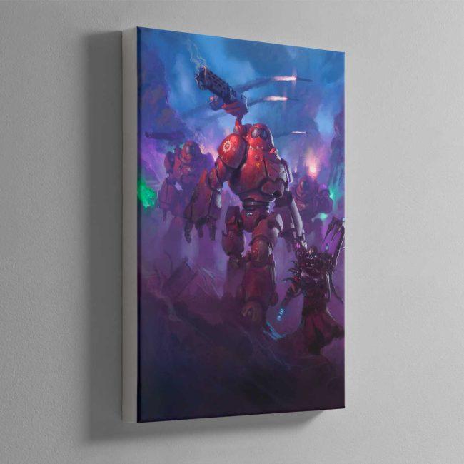Adeptus Mechanicus Kastelan Robots – Canvas
