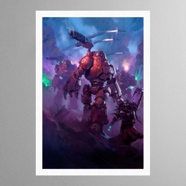 Adeptus Mechanicus Kastelan Robots – Print