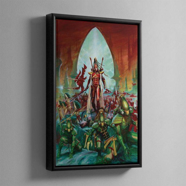 Aeldari – Framed Canvas