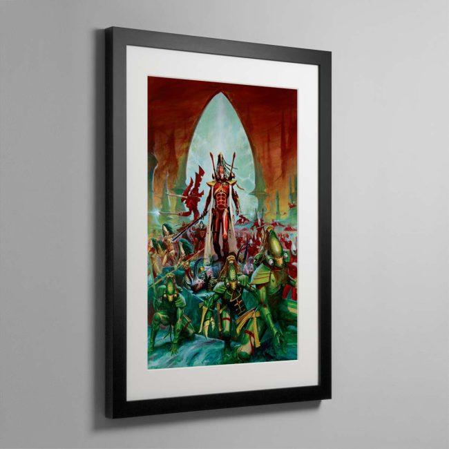 Aeldari – Framed Print