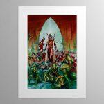 Aeldari – Mounted Print