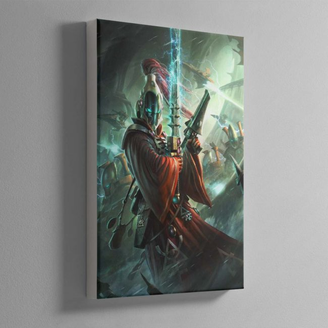 Aeldari Warlock – Canvas