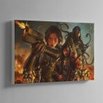 Agent of the Throne Blood and Lies – Canvas