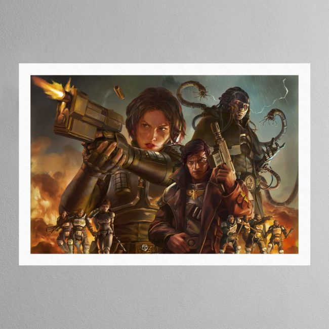 Agent of the Throne Blood and Lies – Print