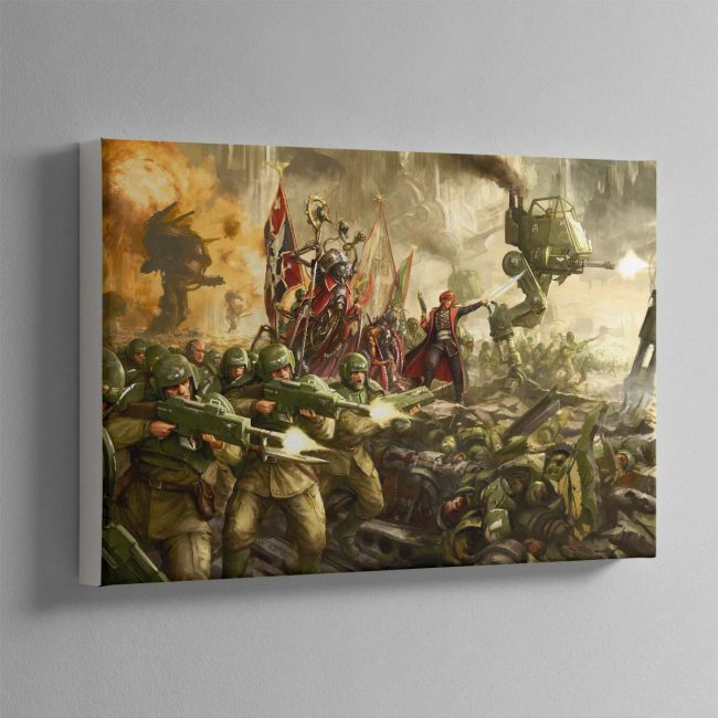 Cadian Charge – Canvas