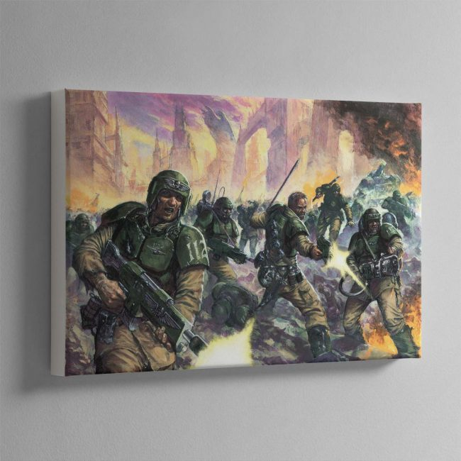Cadian Infantry – Canvas