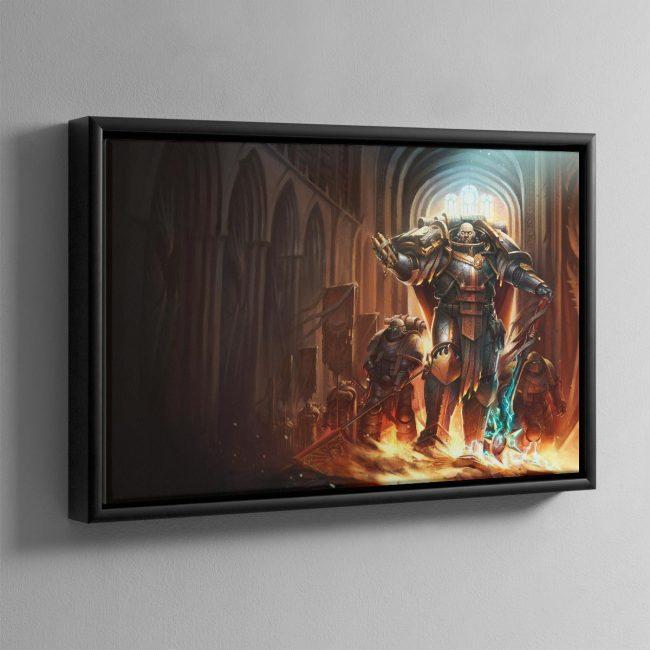 Lorgar Bearer of the Word – Framed Canvas
