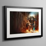 Lorgar Bearer of the Word – Framed Print