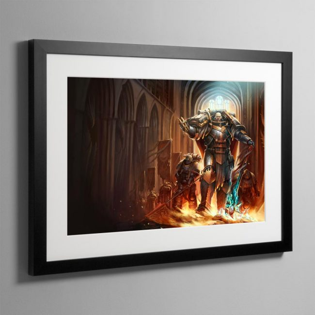 Lorgar Bearer of the Word – Framed Print