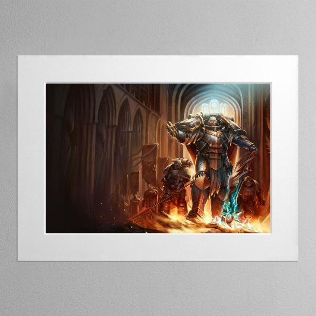 Lorgar Bearer of the Word – Mounted Print