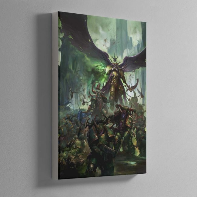 Mortarion, Daemon Primarch of Nurgle – Canvas