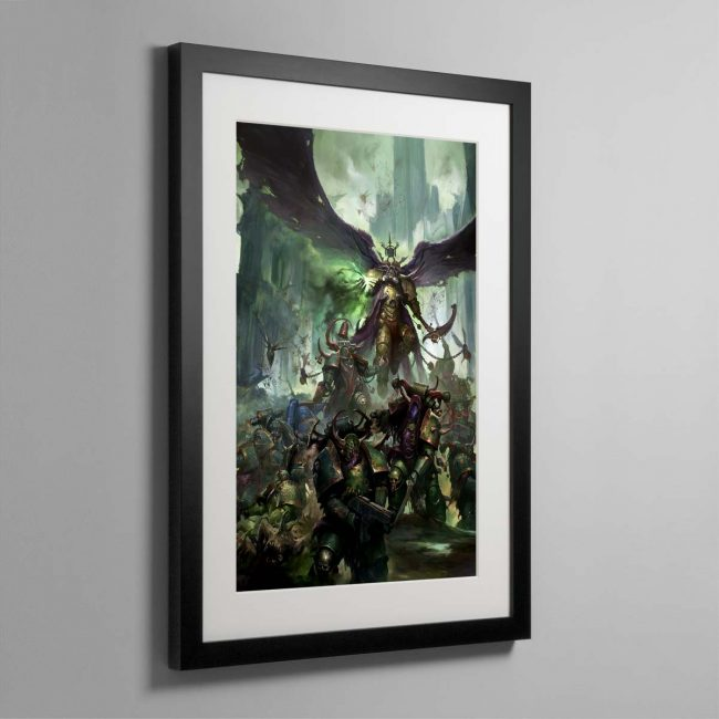 Mortarion, Daemon Primarch of Nurgle – Framed Print