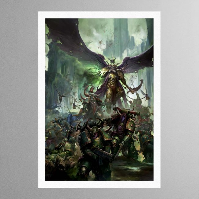 Mortarion, Daemon Primarch of Nurgle – Print