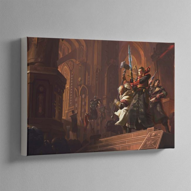 Resurrection The Horusian Wars – Canvas