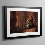 Resurrection The Horusian Wars – Framed Print