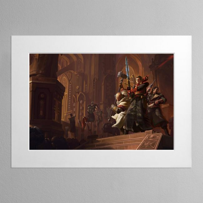 Resurrection The Horusian Wars – Mounted Print