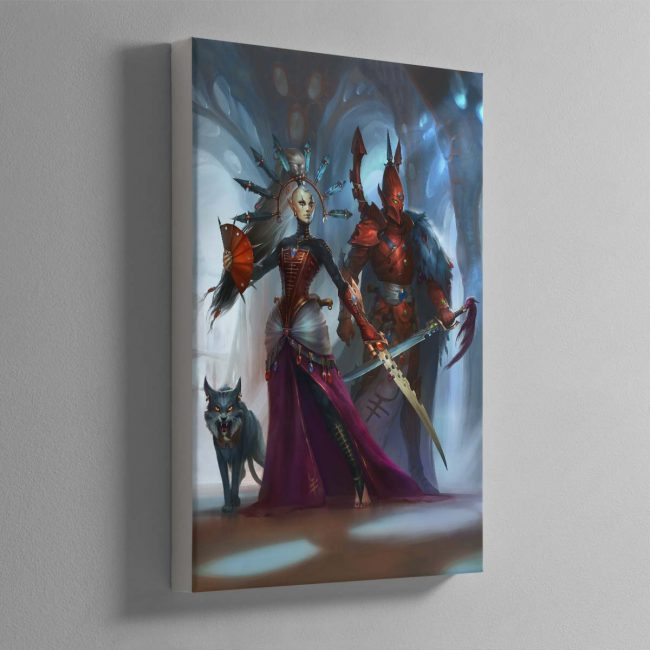 Rise of the Ynnari Ghost Warrior – Canvas