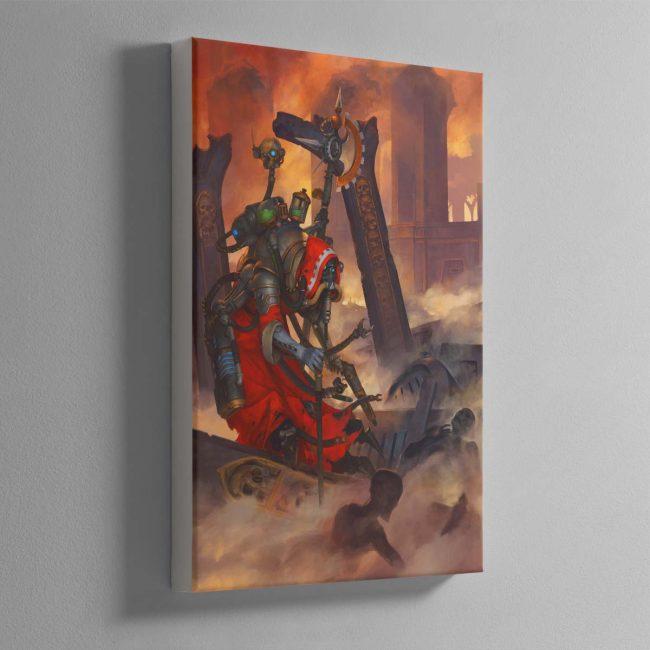 Tech Priest Dominus – Canvas