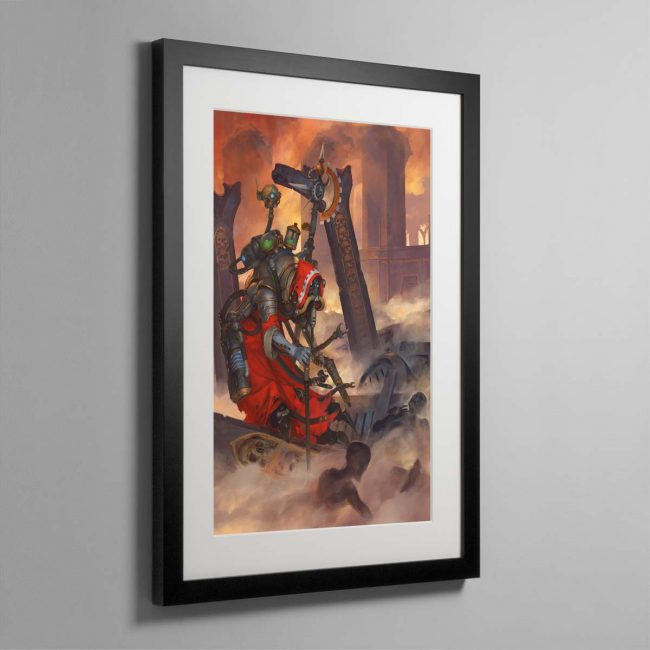 Tech-Priest Dominus – Framed Print