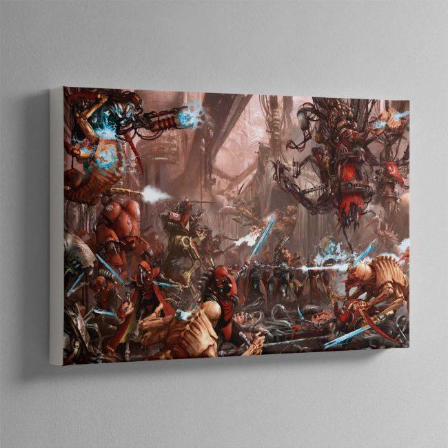 The Adeptus Mechanicus – Canvas