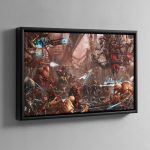 The Adeptus Mechanicus – Framed Canvas