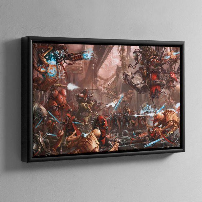 The Adeptus Mechanicus – Framed Canvas