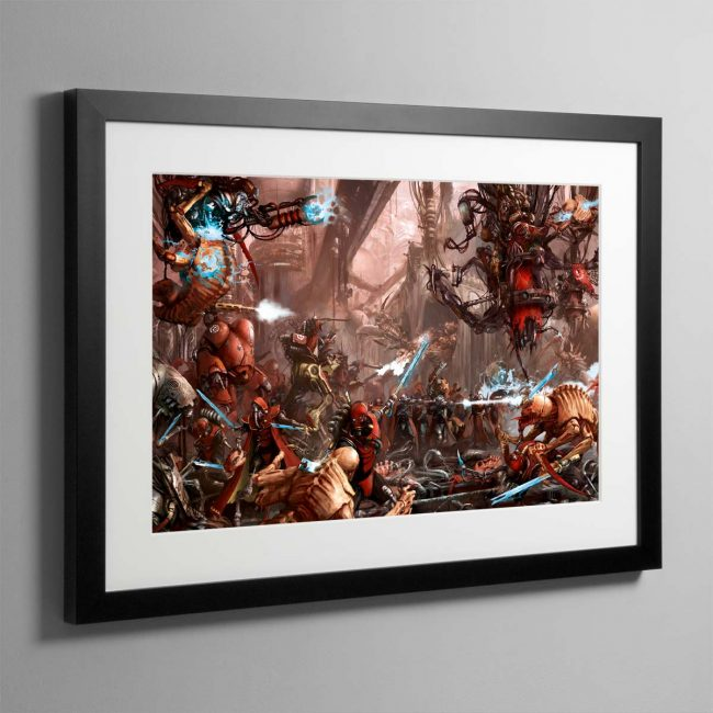 The Adeptus Mechanicus – Framed Print