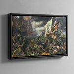 The Battle of Tyrok Fields – Framed Canvas
