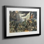 The Battle of Tyrok Fields – Framed Print
