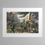 The Battle of Tyrok Fields – Mounted Print