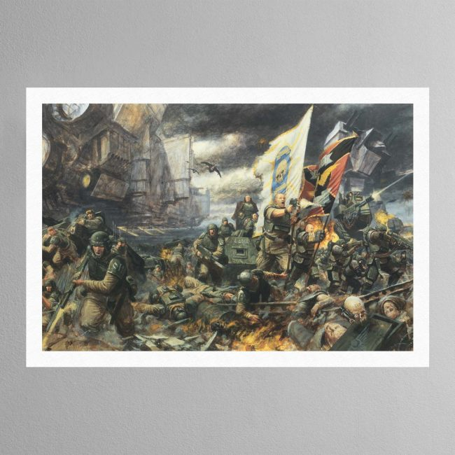 The Battle of Tyrok Fields – Print