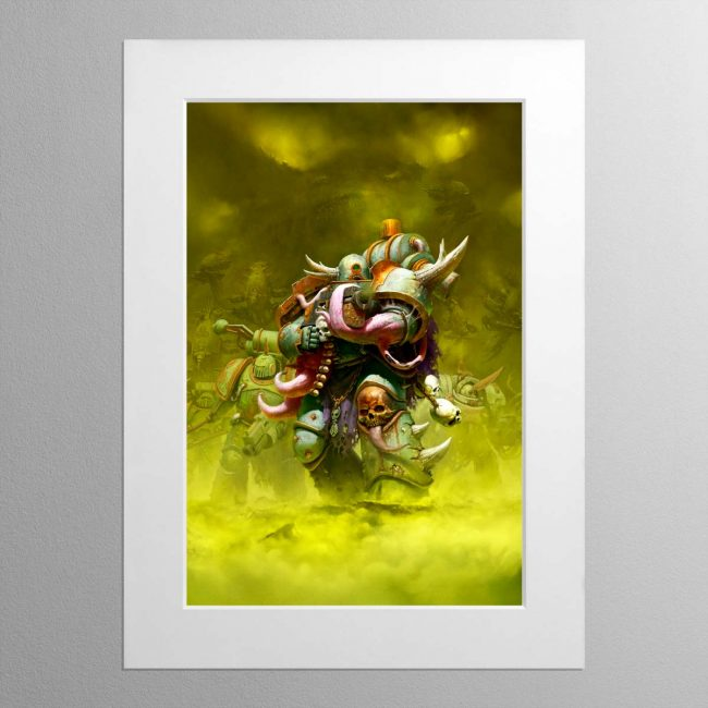 The Death Guard – Mounted Print
