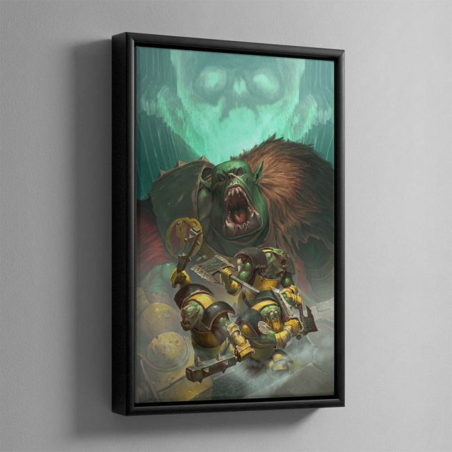 Ironskull's Boyz – Framed Canvas